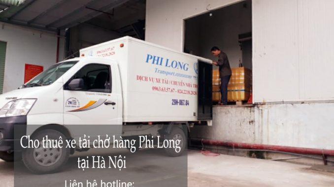 Cho thuê xe tải chở hàng thuê tại phố Kim Quan