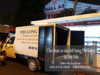 Xe tải chở hàng thuê Phi Long chuyển nhà giá rẻ nhất tại phố Tôn Thất Thuyết