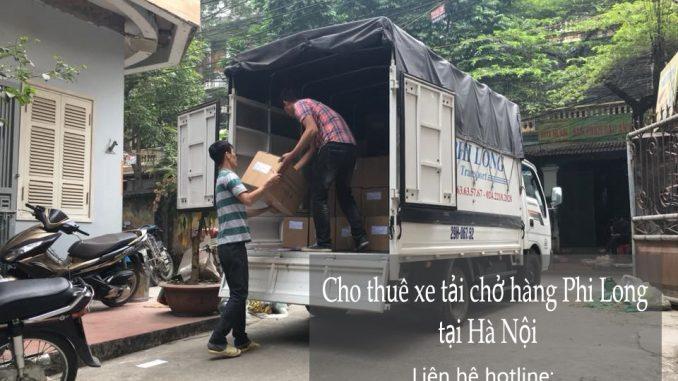 Cho thuê xe tải chở hàng tại phố Quỳnh Đô