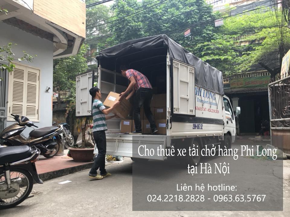 Dịch vụ xe tải chở hàng thuê tại phố Tử Hiệp