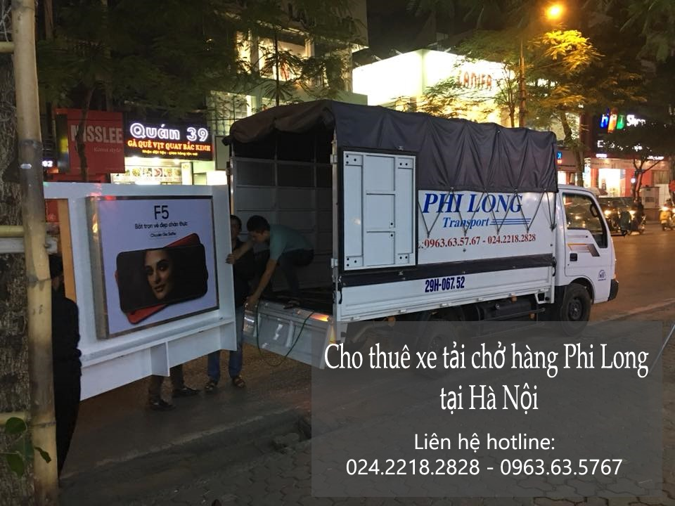 Xe tải chở hàng thuê giá rẻ tại phố Nguyễn Thị Định