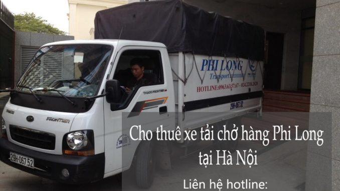 Xe tải chở hàng thuê tại phố Ngô Tất Tố