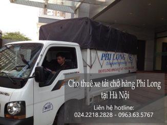 Cho thuê xe tải chở hàng thuê giá rẻ tại khu đô thị Dương Nội