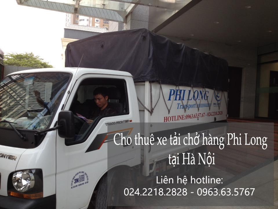 Cho thuê xe tải chở hàng tại phố Vạn Bảo