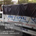 Xe tải chở hàng thuê tại phố Vũ Hữu