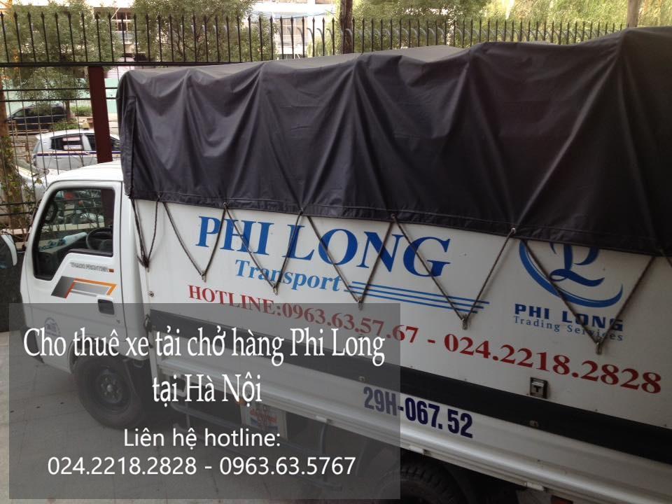 Dịch vụ xe tải chở hàng thuê tại phố Vạn Bảo