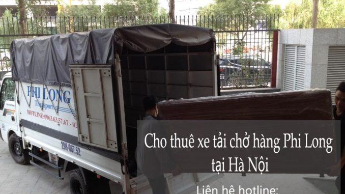 Xe tải chở hàng thuê tại phố Phùng Khoang