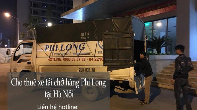 Dịch vụ xe tải chở hàng thuê tại khu đô thị Văn Khê