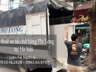 Xe tải chở hàng thuê tại phố Hoàng Đạo Thúy