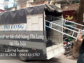 Xe tải chở hàng thuê tại phố Lê Thánh Tông
