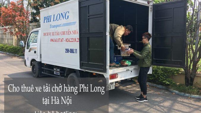 Xe tải chở hàng thuê tại phố Nguyễn Du