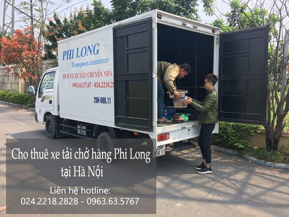 Dịch vụ xe tải chở hàng thuê tại phố Nguyễn Cảnh Chân