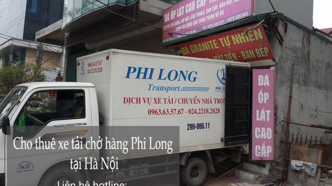 Xe tải chở hàng thuê tại phố Thanh Bình