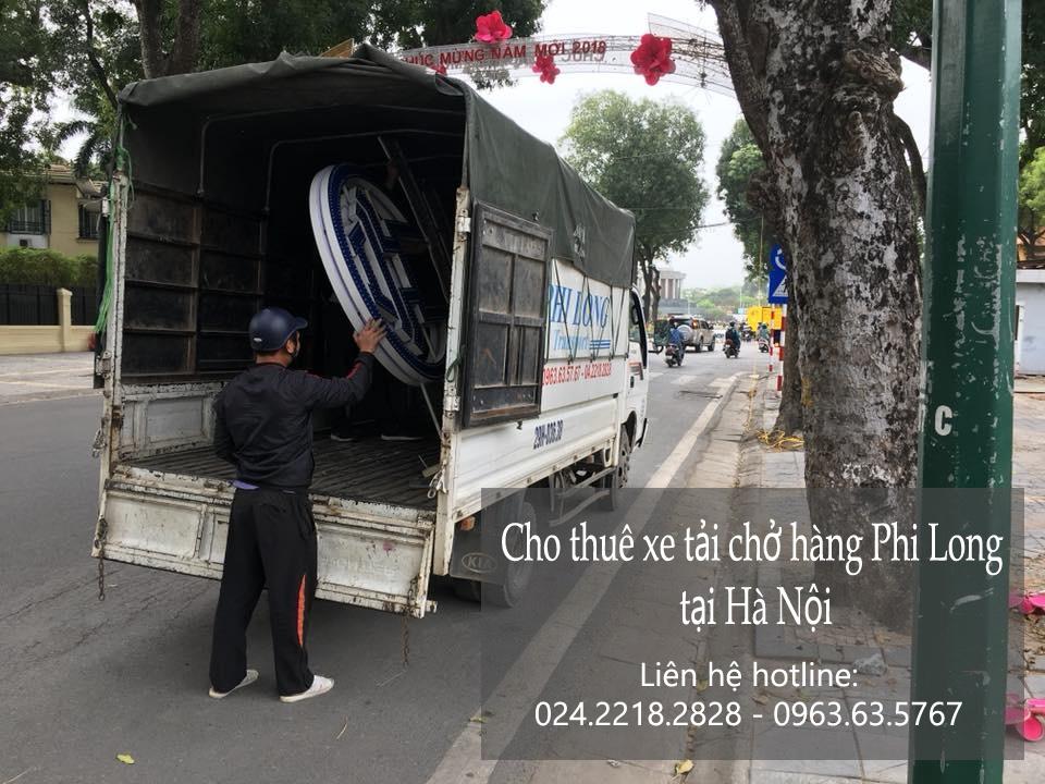 Dịch vụ xe tải chở hàng thuê Phi Long tại phố Nguyễn Văn Ngọc