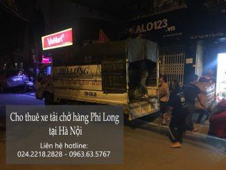 Xe tải chở hàng thuê tại phố Lê Lợi