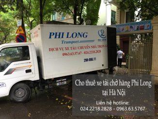 Xe tải chở hàng thuê tại đường Giáp Bát