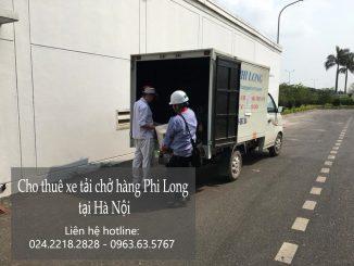 Xe tải chở hàng thuê tại phố Lê Trọng Tấn