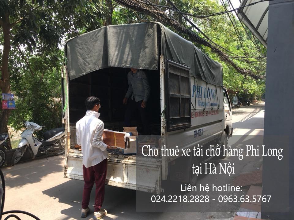 Xe tải chở hàng thuê tại phố Trần Kim Xuyến