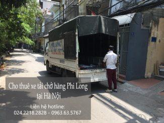 Xe tải chở hàng thuê tại đường Trung Yên