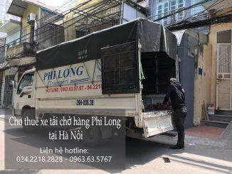 Xe tải chở hàng thuê tại phố Trung Hòa