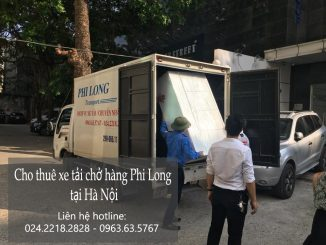 Xe tải chuyển nhà nhanh chóng tại phố Triệu Việt Vương