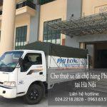 Xe tải chở hàng thuê tại phố Hàng Lược