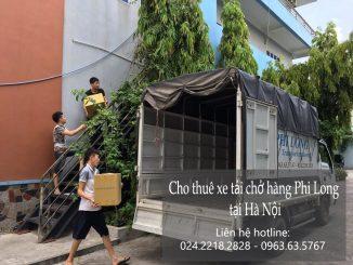 Xe tải chở hàng thuê Phi Long tại phố Tô Tiến Thành