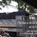 Thuê xe tải Hà Nội tại phố Đại La