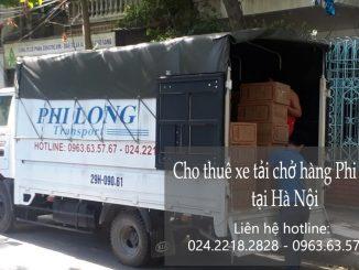 Cho thuê xe tải Hà Nội tại phố Hàng Chiếu