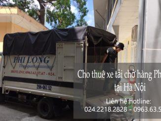 Xe tải chở hàng thuê tại phố Phan Huy Ích