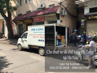 Xe tải chở hàng thuê tại phố Trần Cao Vân