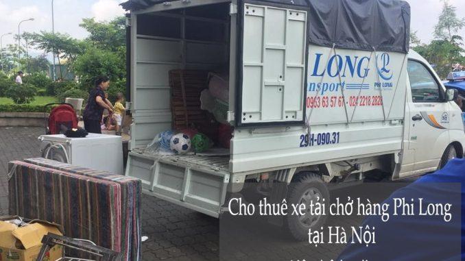 Xe tải chở hàng thuê tại phố Nguyễn Siêu