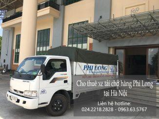 Xe tải chở hàng thuê tại phố Lý Thường Kiệt