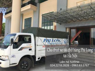 Xe tải chở hàng thuê tại phố Mạc Đĩnh Chi