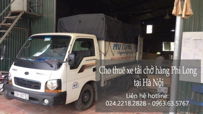 Xe tải chở hàng thuê tại phố Nguyễn Chí Thanh