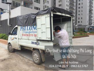Dịch vụ xe tải chở hàng thuê tại đường Đản Di