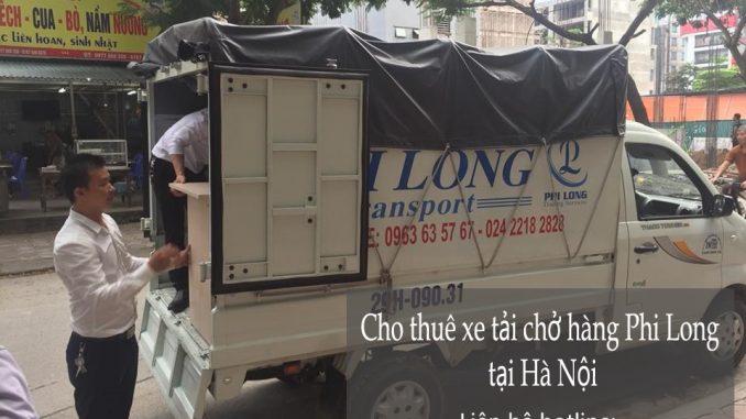Xe tải chở hàng thuê tại phố Đoàn Trần Nghiệp