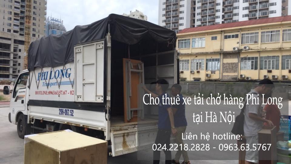 Xe tải chở hàng thuê tại phố Nguyễn Duy Dương