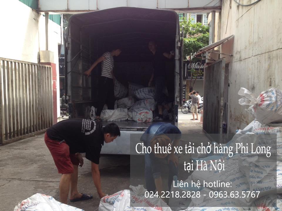 Xe tải chở hàng thuê tại phố Giang Văn Minh