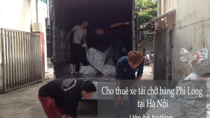 Xe tải chỏ hàng thuê tại phố Đốc Ngữ