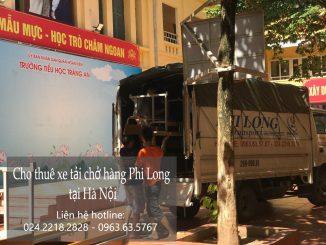Xe tải chỏ hàng thuê tại phố Nguyễn Hữu Huân