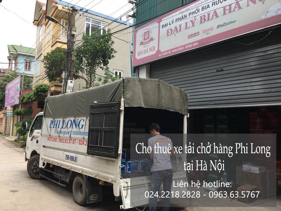 Xe tải chở hàng thuê tại phố Tố Hữu 2019