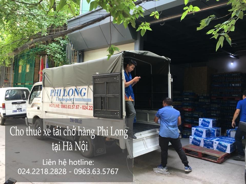 Xe tải chở hàng thuê tại phố Thượng Đình 2019