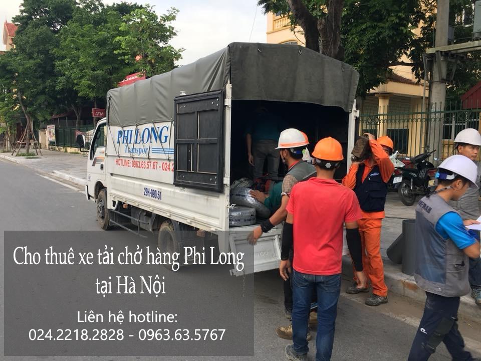 Xe tải chở hàng thuê tại phố Tân Ấp