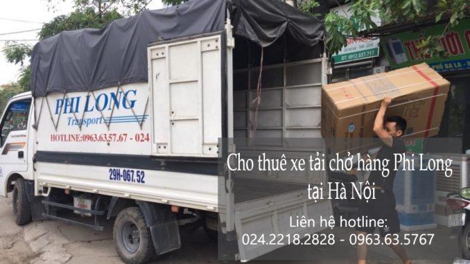 Xe tải chở hàng thuê tại phố Trường Lâm