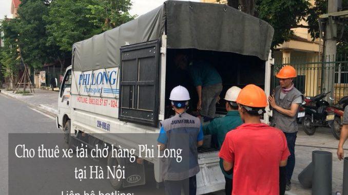 Xe tải chở hàng thuê tại phố Đồng Xuân