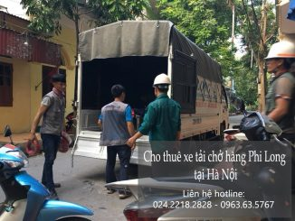 Xe tải chở hàng thuê tại phố Nguyễn Cơ Thạch