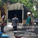 Xe tải chở hàng thuê tại phố Nguyễn Như Đổ