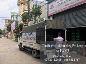 Dịch vụ xe tải chở hàng thuê tại phố Kim Hoa 2019