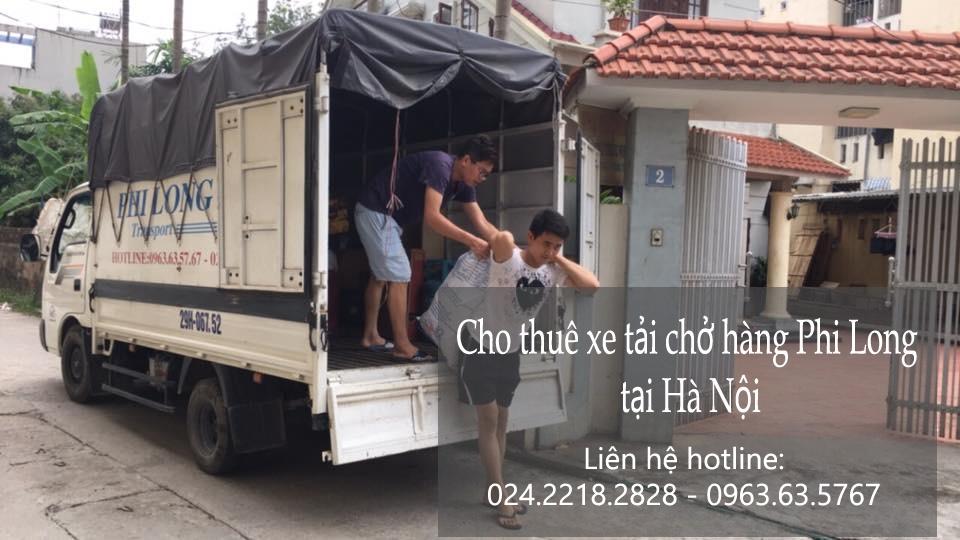 Dịch vụ xe tải chở hàng thuê tại đường Chiến Thắng